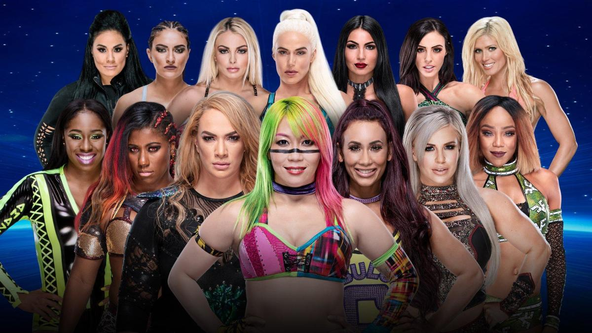battle royal for future title shot taking place at wwe evolution