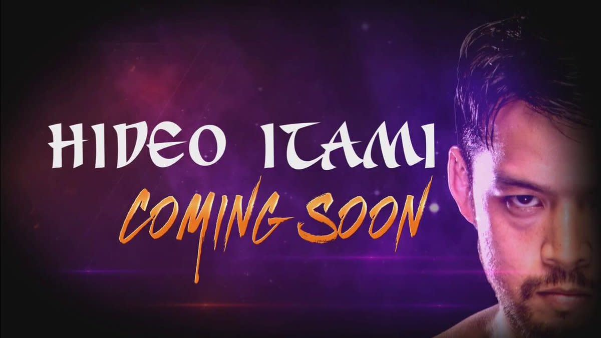 Image result for Hideo Itami coming to 205 live