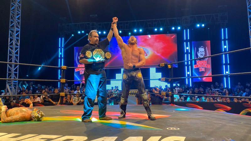 Kenny Omega wins AAA Mega title at Heroes Inmortales