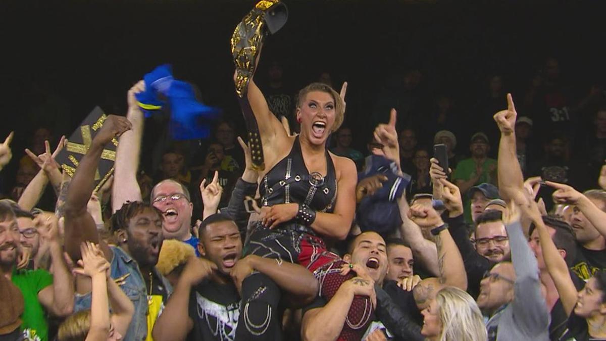 Rhea Ripley Wins Nxt Women S Title From Shayna Baszler