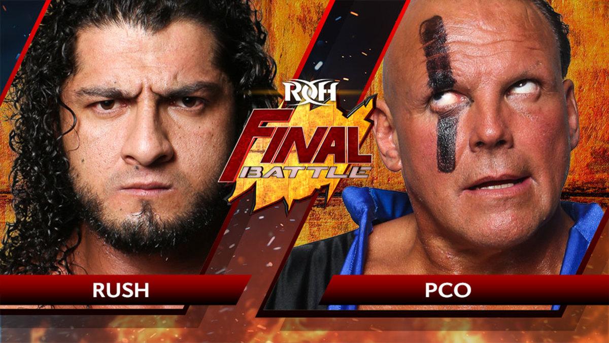 ROH Final Battle live results: Rush vs. PCO