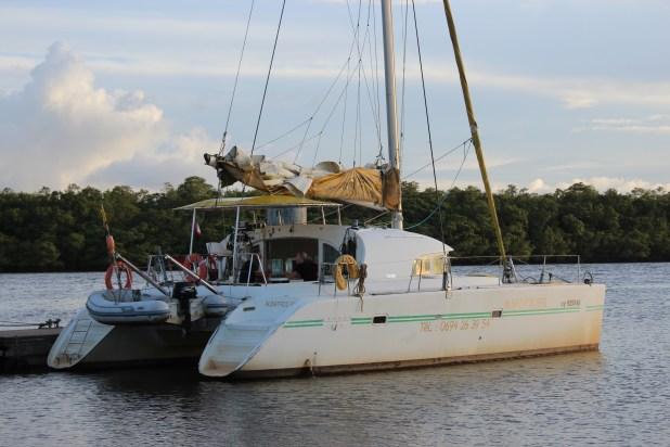 Catamaran Albatros à Kourou
