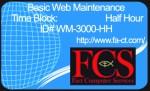 Half-Hour of Website Maintenance