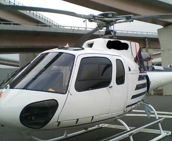ヘリコプターに乗りゴルフ場に行った話