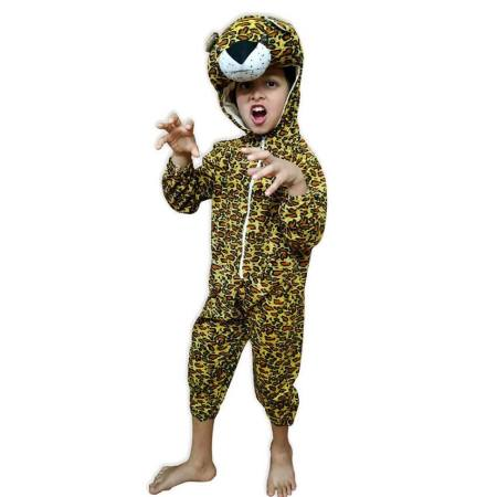 Kids Leopard Fancy Dress Costume on Rent.