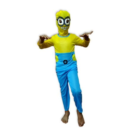 Kids Minion Costume Fancy Dress on Rent