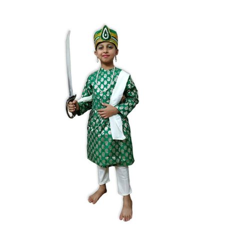 Kids Mughal Costume Fancy Dress on Rent