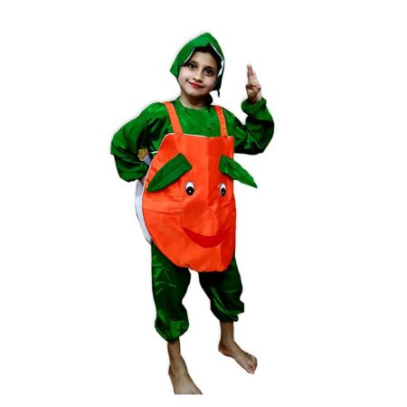 Kids Apple Costume Fancy Dress on Rent