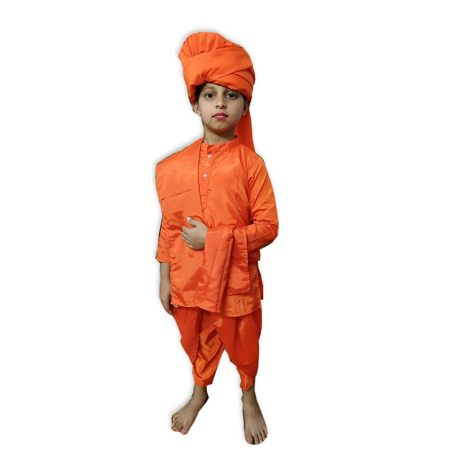 Kids Swami Vivekananda Costume Fancy Dress on Rent