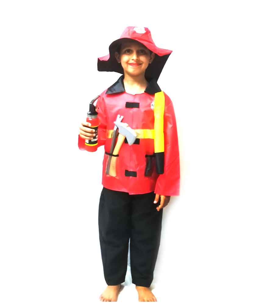 Firefighter Costume on Rent
