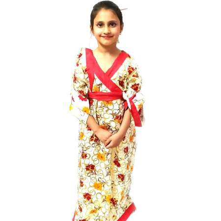 Japanese Kimono Costume on Rent