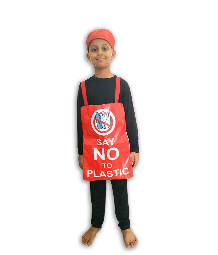 Hire Say No to Plastic Costume