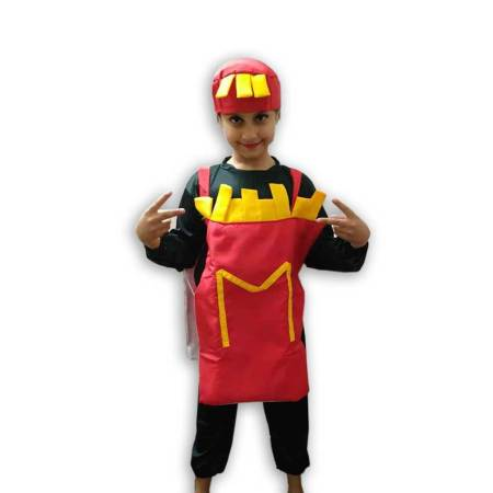 Hire Finger Chips French Fries Costume