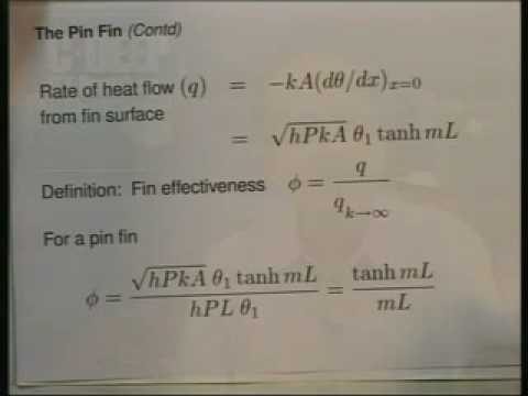Introduction on Heat and Mass Transfer Lecture – 9