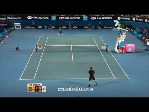 Roger Federer facing the impossible !