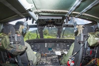Voo de Black Hawk na Amazônia  Cabo Vinícius Santos / Agência Força Aérea