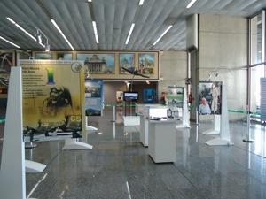 Vista da Exposição Nero Moura 100 Anos