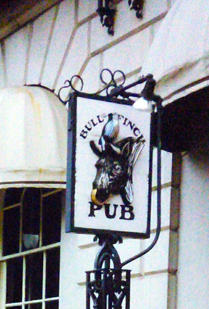 The Bull & Finch Pub is the basis for the bar in Cheers