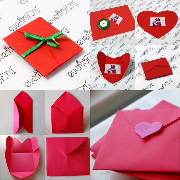 How To Make Heart Shaped Greeting Card In 2 Ways FAB ART