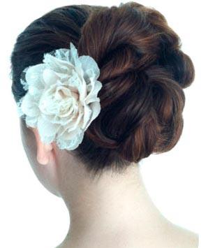 DIY Twist Double Rope Bun Updo Hairstyle