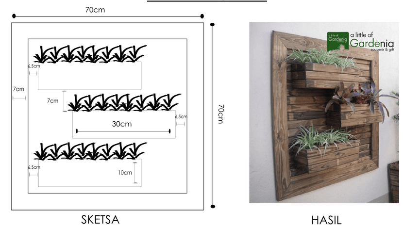 Vertical wall planter plans