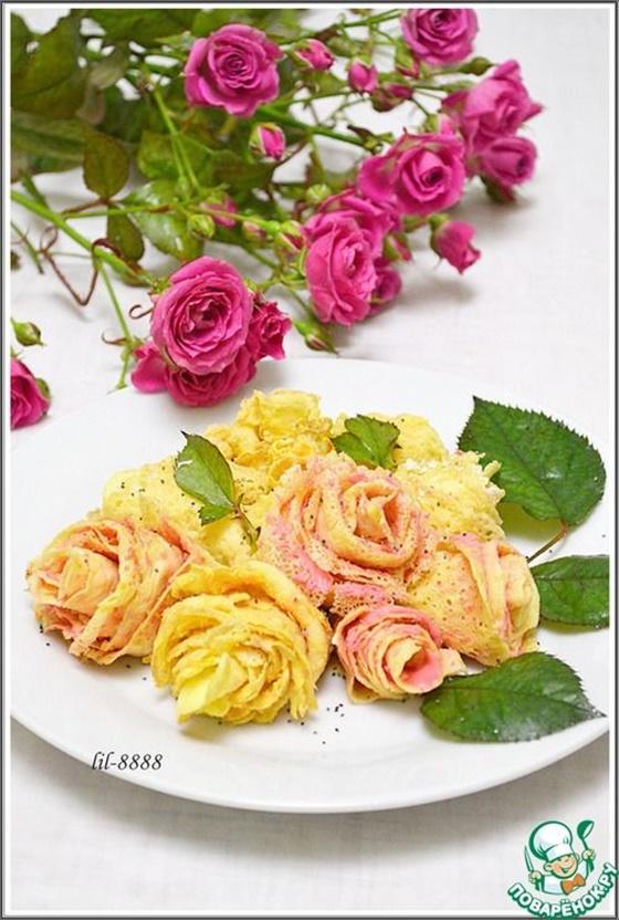 FabArtDIY Beautiful Pancake Rose Tutorial