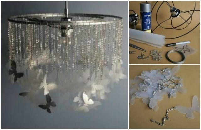 Erfly Chandelier Mobile Diy Tutorials