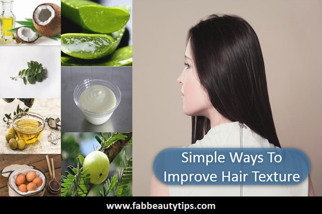 improve hair texture, hair texture, hairs, strong hairs,silky hairs