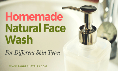 all natural face wash; best natural face wash; Homemade Face Washes; natural face wash