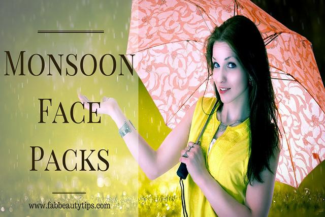 face pack, face pack for rainy season, homemade face pack for monsoon, homemade face pack for rainy season, monsoon face packs