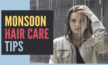 monsoon hair, monsoon hair care, monsoon hair care tips