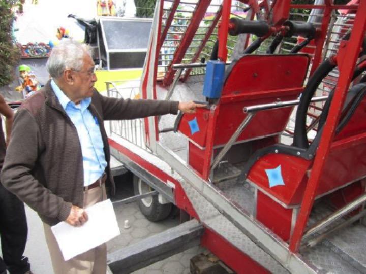 KAMIKAZE RANGER Ride Inspection Acatzingo