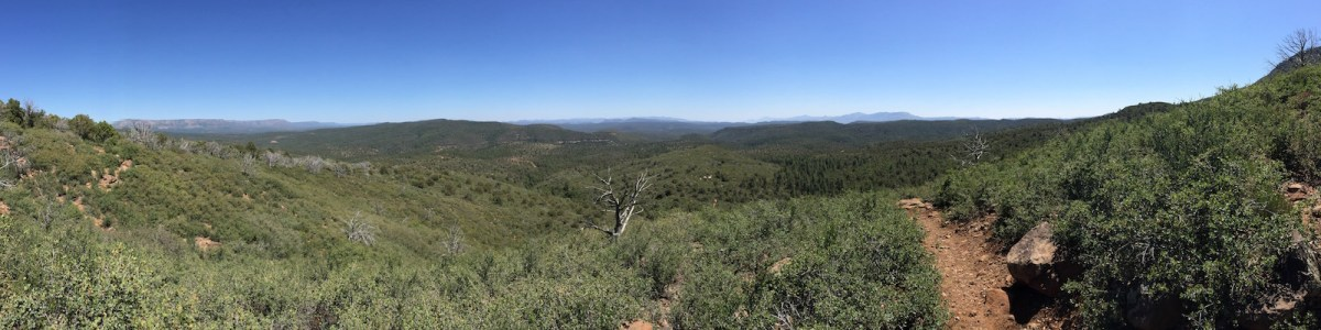 Highline Trail, Mogollon Rim