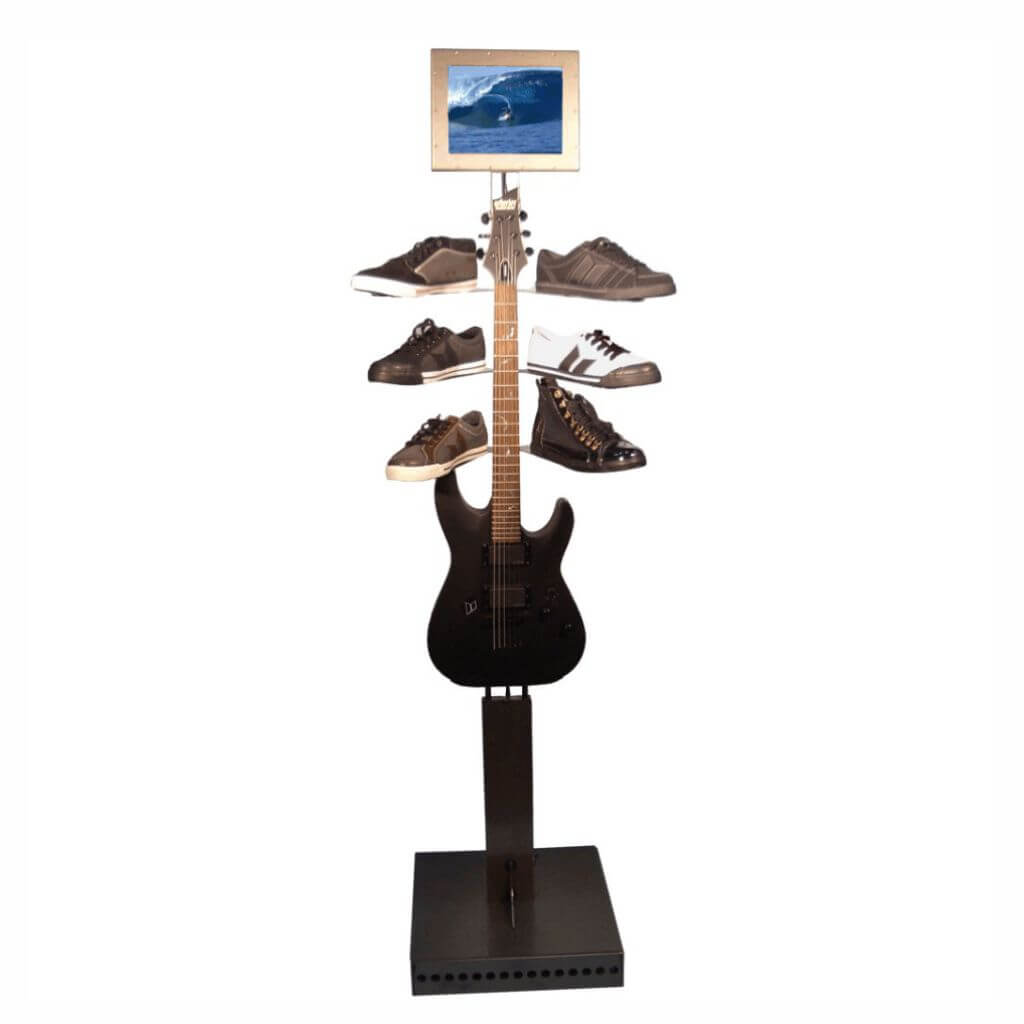 Guitar Shoe Display