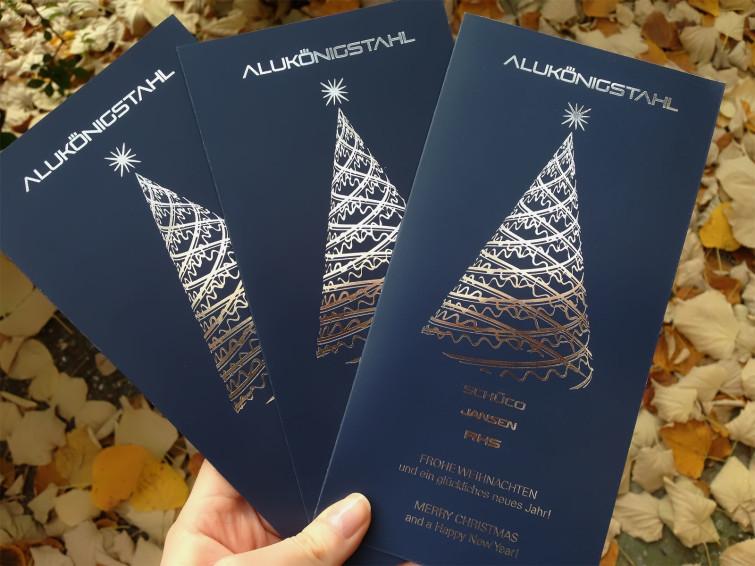 Luxury Corporate Christmas Card
