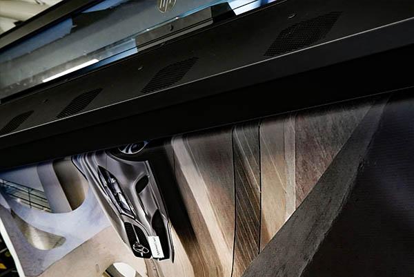 Faber Exposize Latex Print Mercedes