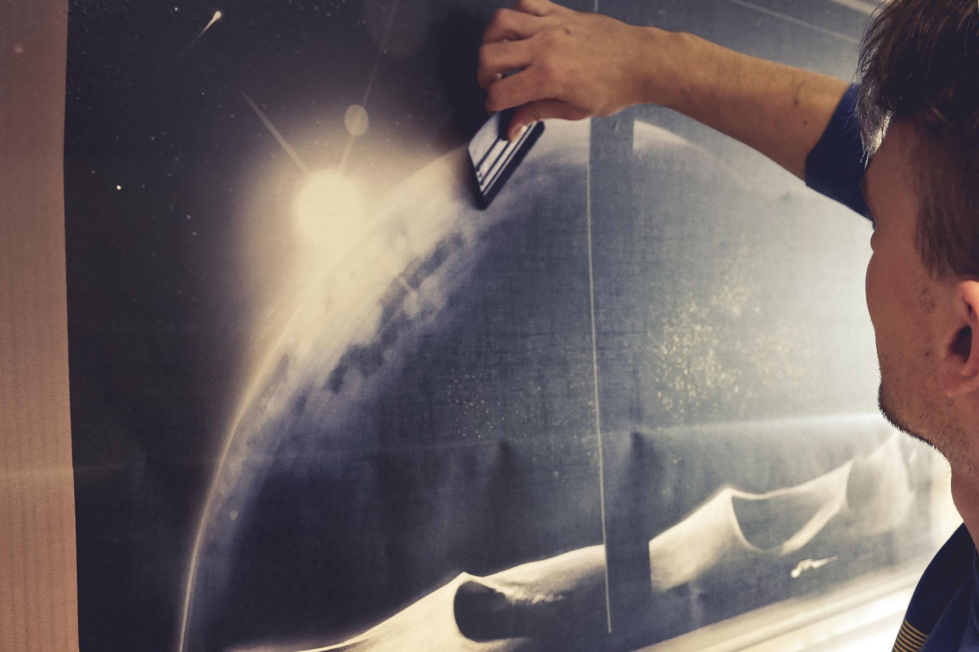 Faber Exposize Vinyl Print Installation