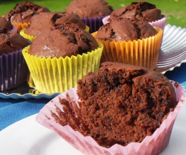 Banocolate Chip Muffins - Fab Food 4 All
