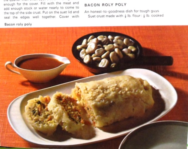The boiled roly poly had more spongy texture. Dig that photographic style!