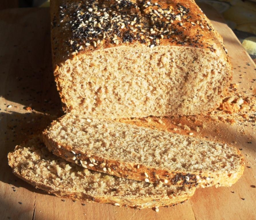 Spelt easy bread