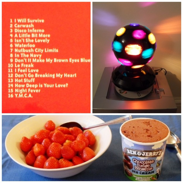 Balsamic Salad Dressing, 70's Party Night