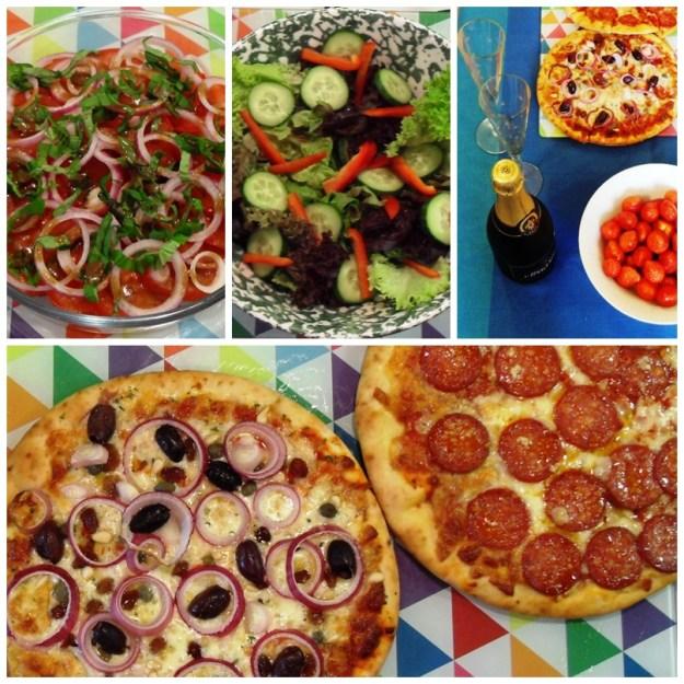 Balsamic Salad Dressing, 70's Party, Veneziana Pizza