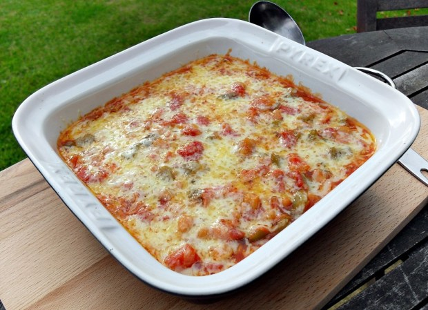 Spicy Bacon & Baked Bean Casserole