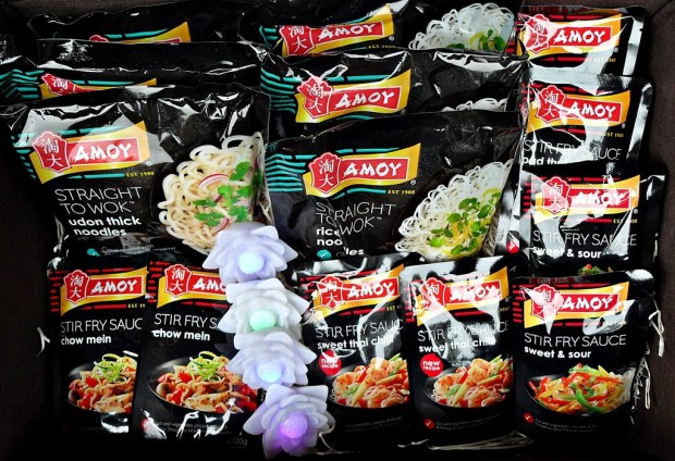 Mid-Autumn Festival Feast with Amoy Noodles & Sauces, Pad Thai, Sweet & Sour, Sweet Thai Chilli, recipes