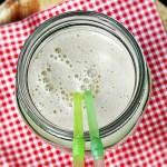 Banana, Honey & Walnut Shake, milkshake, smoothie, drink, healthy, breakfast, vegetarian, snack,