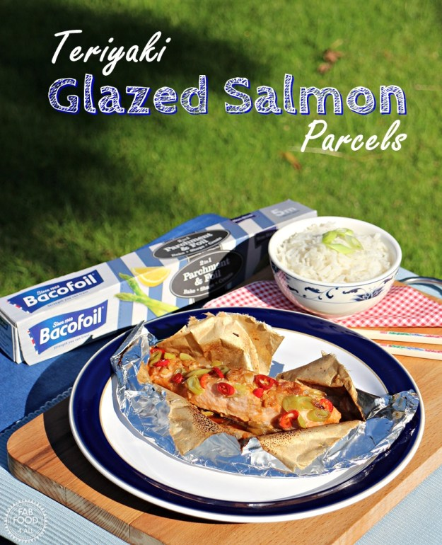 Teriyaki Glazed Salmon Parcels - Fab Food 4 All