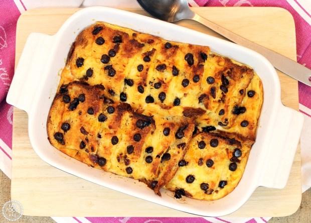 Chocolate Orange Panettone Pudding - Fab Food 4 All