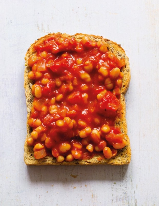 Baked Beans from Hungry Healthy Happy