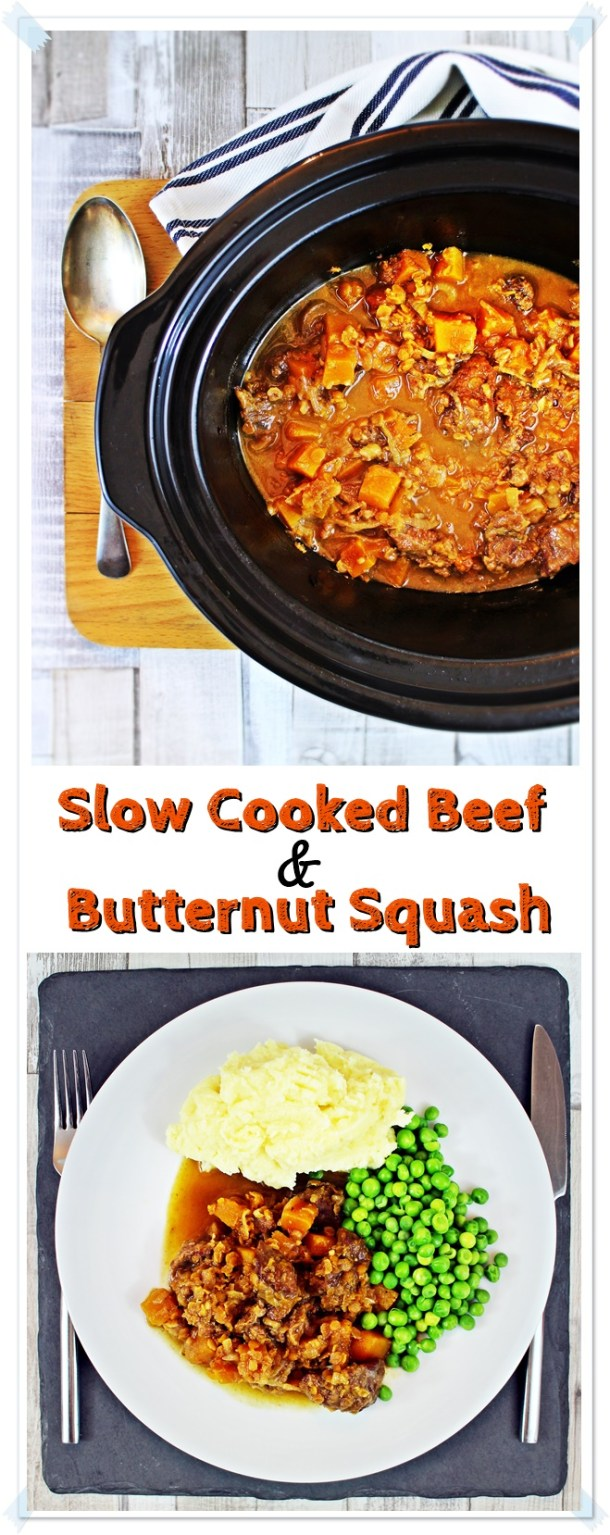 Slow Cooked Beef & Butternut Squash - Fab Food 4 All