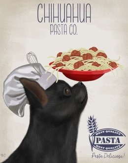 Chihuahua Black Pasta Cream
